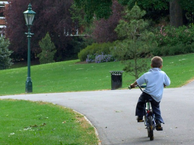 I Want To Ride My Bicycle, Bicycle, Bicycle... The Arboretum, Lincoln
