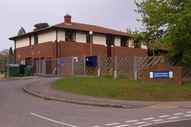 Reigate Parish Church School by Ian Capper