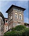 SX9263 : Vane Tower by Derek Harper