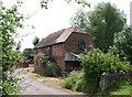 SO7835 : Old barn, Home Farm by Bob Embleton