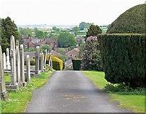 SK3516 : Ashby de la Zouch Cemetery by Mat Fascione