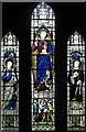 TL8093 : St Leonard's Church, Mundford, Norfolk - East window by John Salmon