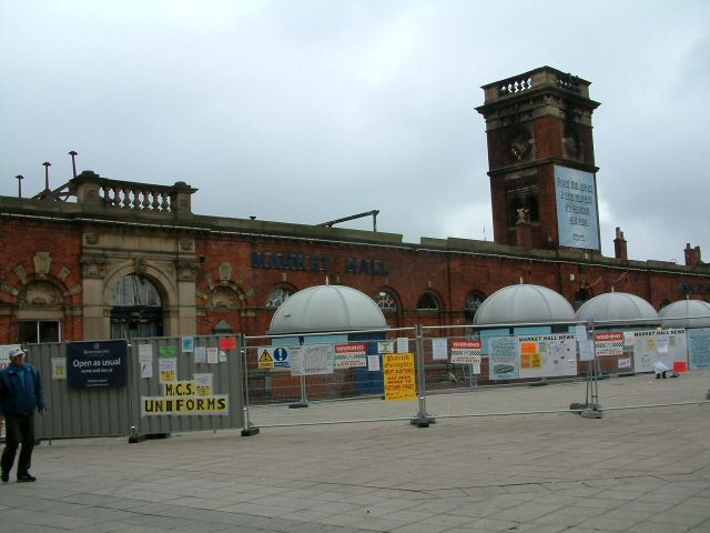 Ashton Market Hall
