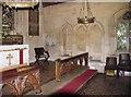 TL8195 : St Peter's Church, Ickburgh, Norfolk - Sedilia by John Salmon