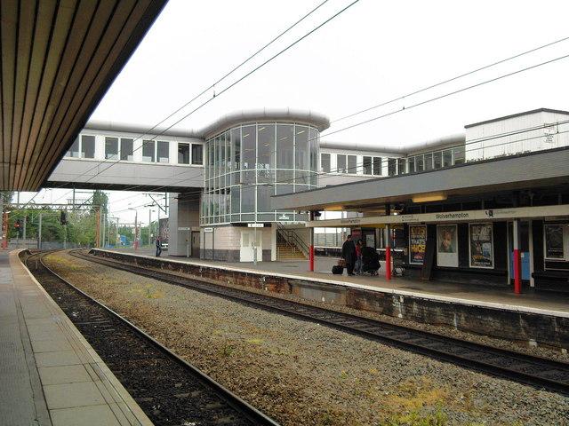 Wolverhampton Rail Station.