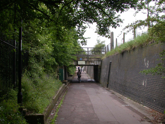 Cycle tunnel beside Milton Road