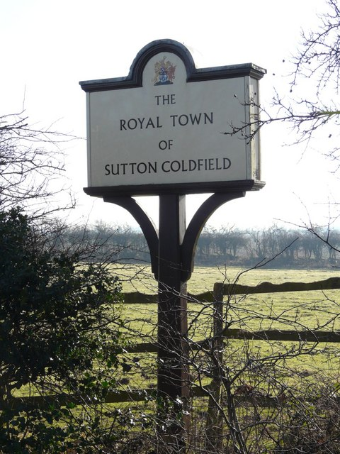 Sutton Coldfield Town Sign, Watford Gap A5127