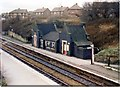 SD5700 : Bryn station - down platform buildings by Peter Whatley