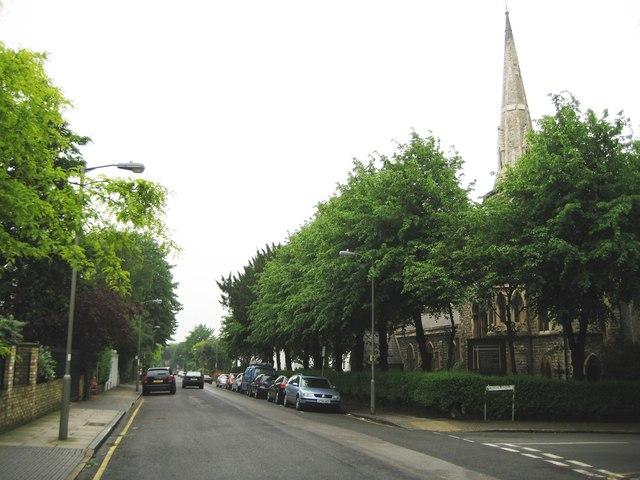 Putney: St John's Avenue, SW15