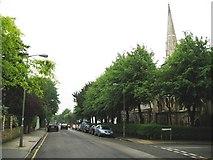 TQ2374 : Putney: St John's Avenue, SW15 by Nigel Cox
