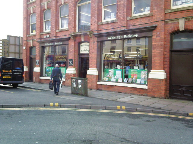 Webberley's Bookshop.