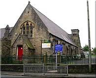 SE0423 : St Peter's Community Centre - St Peter's Avenue, Sowerby by Betty Longbottom
