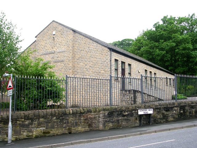 Kingdom Hall of Jehovah's Witnesses - Sowerby New Road