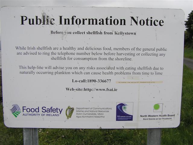 Public Information notice, Kellystown