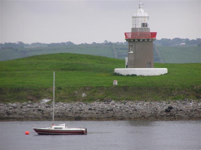 Metal Man Lighthouse, Oyster Island
