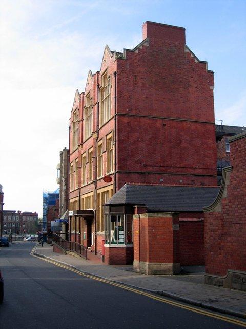 Main post office in St John's Street