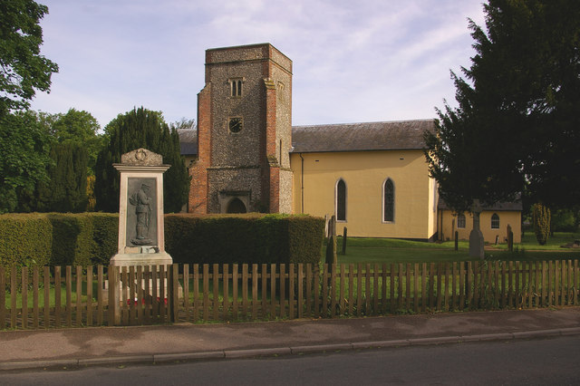St Katharine's Church, Knockholt and War Memorial