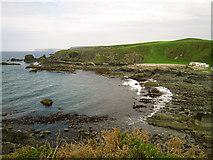 NJ7164 : Macduff: Loch Craig and Tarlair swimming pool by Martyn Gorman