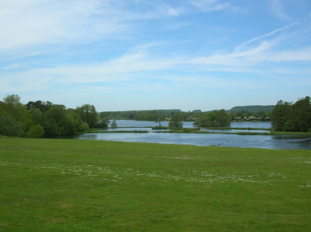 Great Lake from North Lawn