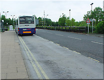 SE6451 : Grimston Bar Park and Ride by Peter Church