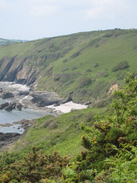 Sunny Cove seen from Pennance Point
