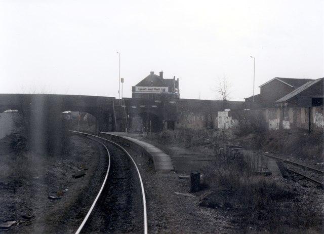 Reddish South station