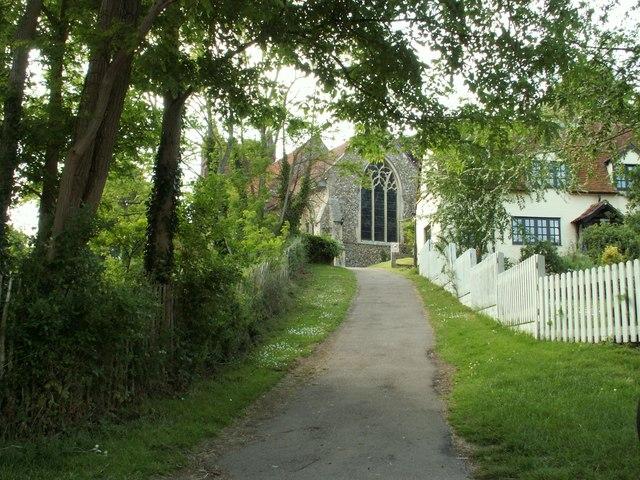 St. Andrew; the parish church of Colne Engaine