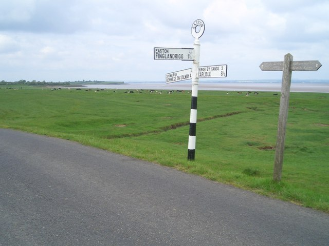 Road Junction & Hadrians Wall Path Sign