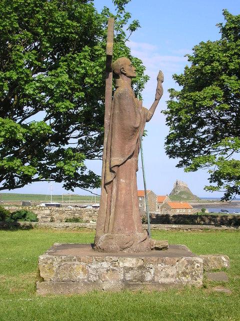 St Aidan's Statue