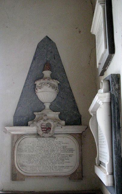 St Andrew's church - memorial