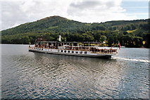 SD3787 : MV 'Tern' just off Lakeside, Lake Windermere by Dr Neil Clifton