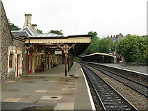 SO7845 : Great Malvern station by Peter Whatley