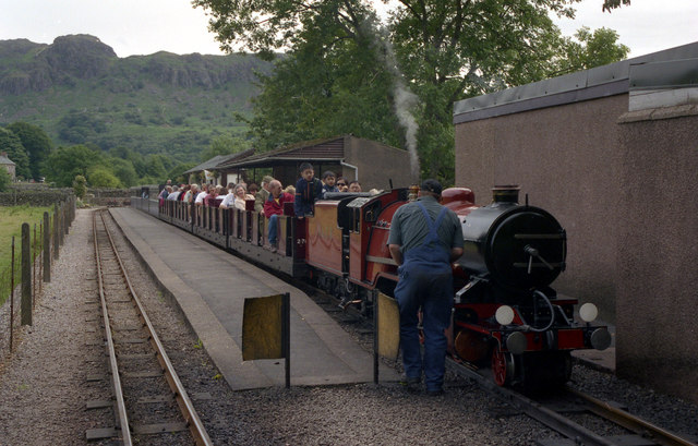 Dalegarth station, Ravenglass and Eskdale Railway