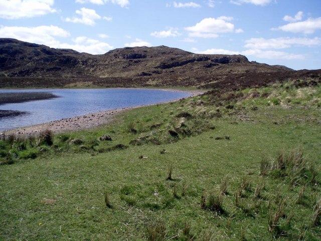 Fionn Loch bay