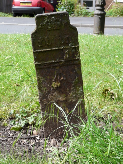 Old Fire Hydrant marker post on A5127