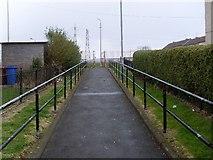 NS5073 : Path to Edinbarnet Primary School by Stephen Sweeney