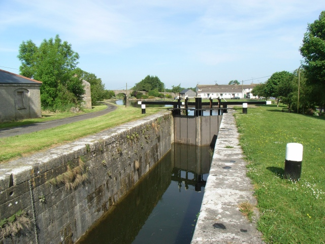 Royal Canal 35th Lock at Ballynacarrigy, Co. Westmeath