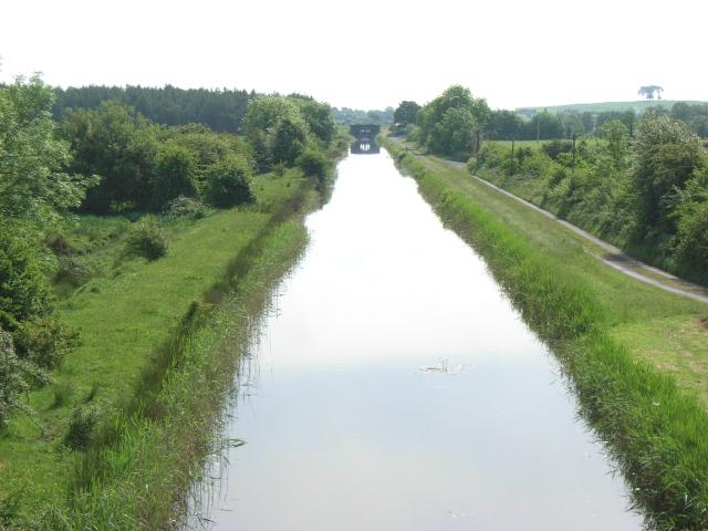 Royal Canal from Kiddy's Bridge, East of Ballynacarrigy, Co. Westmeath