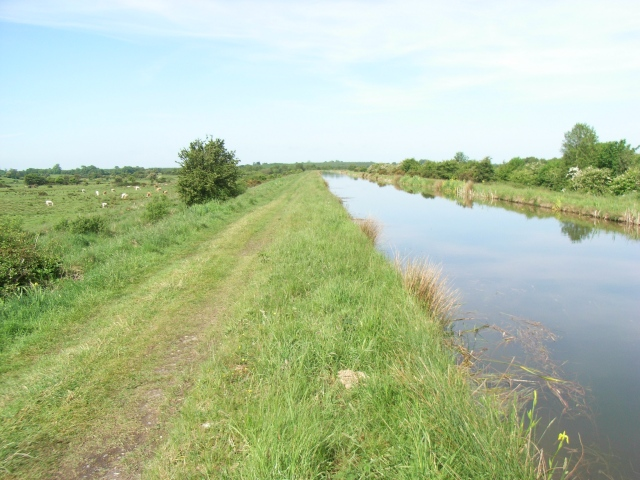 Royal Canal in Westmeath near the Longford border
