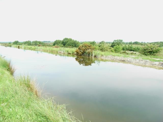 Royal Canal in Westmeath Near the Longford Border