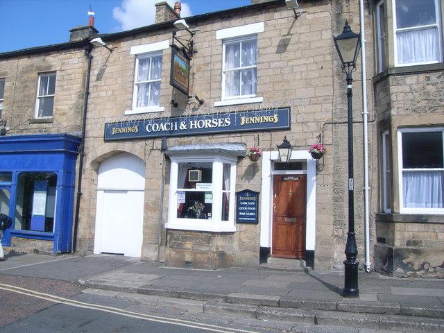 Coach & Horses pub, Galgate