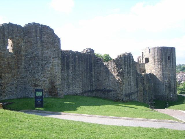 Outside of castle, Barnard Castle