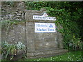NZ0416 : Barnard Castle town sign by Nick Mutton