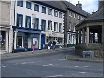 NZ0516 : Junction of The Bank & Market Place by Nick Mutton