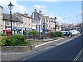 NZ0516 : Looking up Market Place, Barnard Castle by Nicholas Mutton