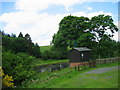 NY9073 : gauging station on the River North Tyne by Les Hull