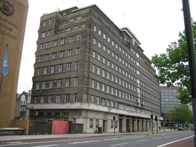 Lambeth: London Fire Brigade Headquarters, Albert Embankment, SE1