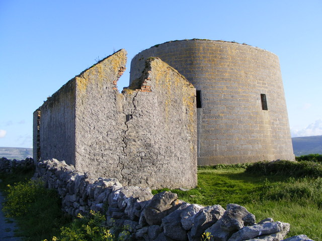 Martello Tower - Finavarra Point, Rine Townland