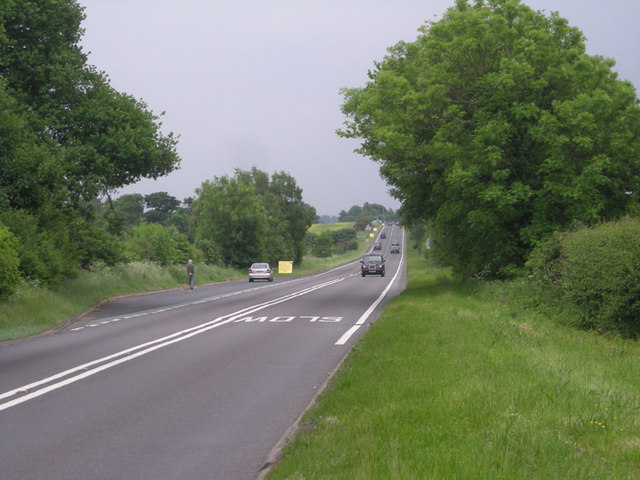 Staffordshire on the left, Shropshire on the right