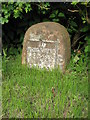 SO8646 : Milestone at Kerswell Green by Philip Halling